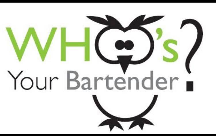 Who's Your Bartender? Logo