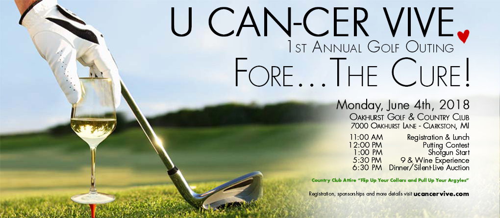 U CAN-CER VIVE Fore The Cure Invitation